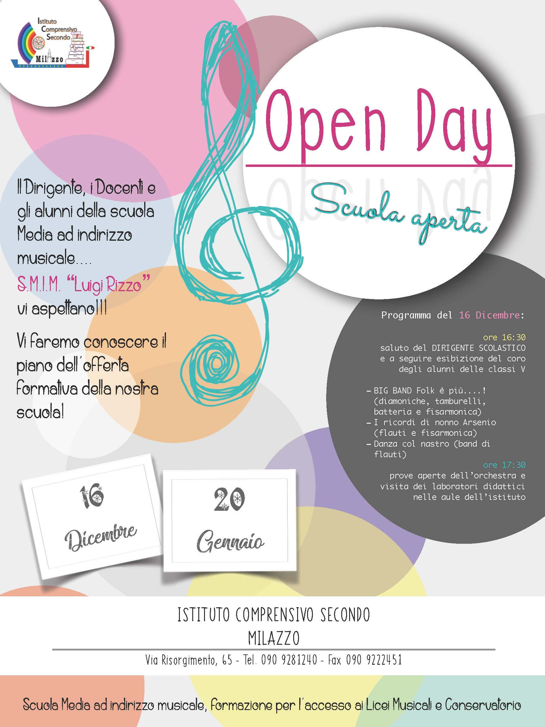 locandina open day definitiva